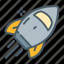 enterprise, launch, rocket, spaceship, startup