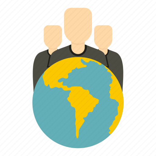 community, connection, global, globe, group, people, world icon