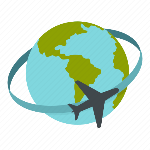 Iconfinder global connections by ivan ryabokon destination earth globe map plane transportation travel icon gumiabroncs Choice Image
