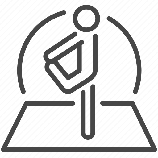 exercise, health, healthcare, medical, stretch, warm up, workout icon