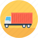 cargo truck, delivery, lorry, shipping, truck