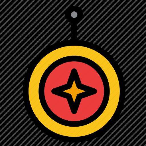 badge, honor, medal, shield, star icon