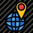 global, location, map, world