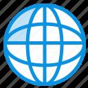 global, internet, location, world icon