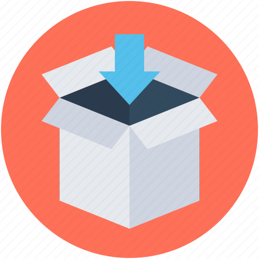 box, delivery box, package, parcel, sealed box icon