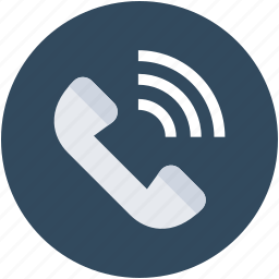call, communication, phone receiver, receiver, talk icon