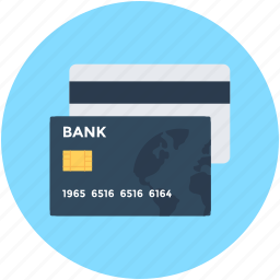 bank card, cash card, credit card, payment card, plastic money icon