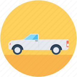 delivery car, delivery van, hatchback, pickup van, van icon