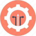 cog, gearwheel, option, repair tool, setting icon