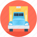 cargo, delivery van, shipping truck, shipment, vehicle