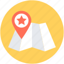 favorite location, gps, location pin, map, map pin icon