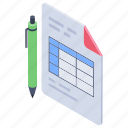 agenda list, checklist, list, product list, shopping list, todo list icon