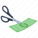 allowance, concession, discount, exemption, rebate, sales discount icon