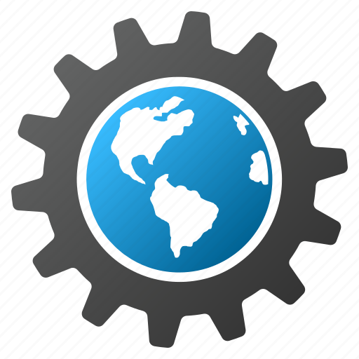 earth, engineering, global settings, globe, internet, service tools, system options icon