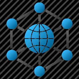 earth, global web, globe, internet, map, total control, world icon