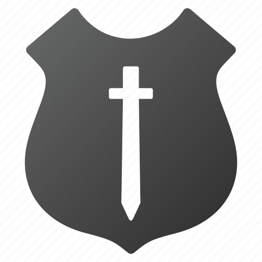 guard, military, protection, safety, security, shield, sword icon