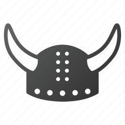 armor, barbarian, horned helmet, knight, soldier, viking, warrior icon