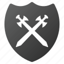antivirus, defense, protection, safety, secure, security, shield icon