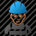 service, glad worker, work, person, job, man, engineer icon