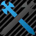 sabre, weapon, blade, guard, defense, medieval swords, knife icon