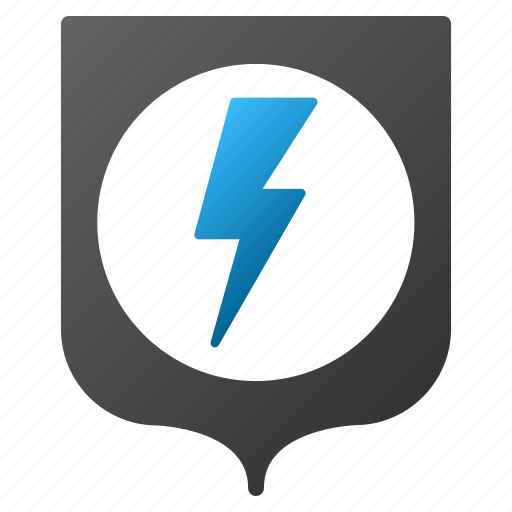 electric, electrical, electricity, energy, power protection, safety, security icon