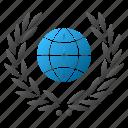 certificate, emblem, global, globe, guarantee, international, quality