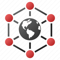 global net, globe map, international, network, planet, web, worldwide internet icon