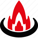 adventure, bonfire, camp, campfire, camping, fire, flame icon