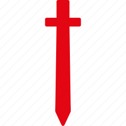 blade, defense, guard, knife, military, sword, weapon icon