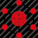 globe, network, seo, web, global communication, internet, world