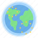 atmosphere, global, ozone, warming icon