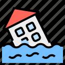 disaster, flood, global, warming