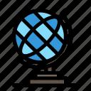 earth, geography, globe icon