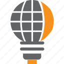 bulb, electric, electricity, globe, idea, lamp, light icon