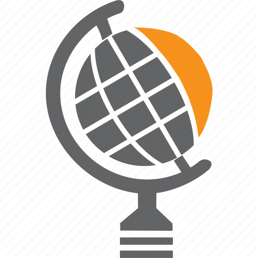 globe, map, world icon