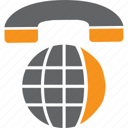 globe, phone, talk, telephone, web icon