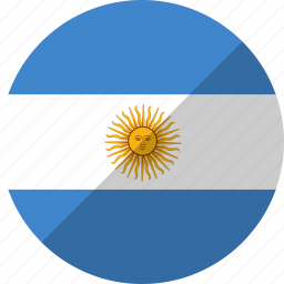 argentina, country, flag, nation icon