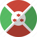 burundi, country, flag, nation icon