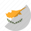 country, cyprus, flag, nation icon