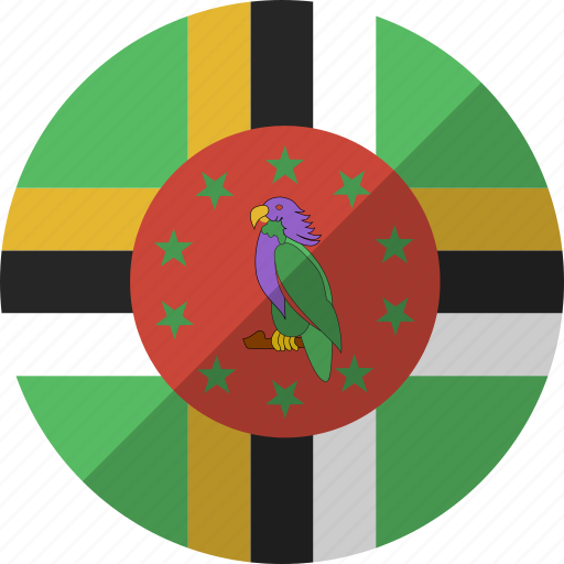 country, dominica, flag, nation icon