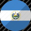 country, el, flag, nation, salvador