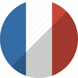 country, flag, france, nation icon