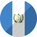country, flag, guatemala, nation icon