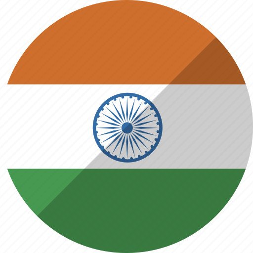 country, flag, india, nation icon