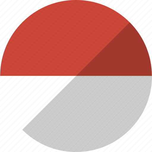 country, flag, indonesia, nation icon