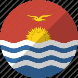 country, flag, kiribati, nation icon