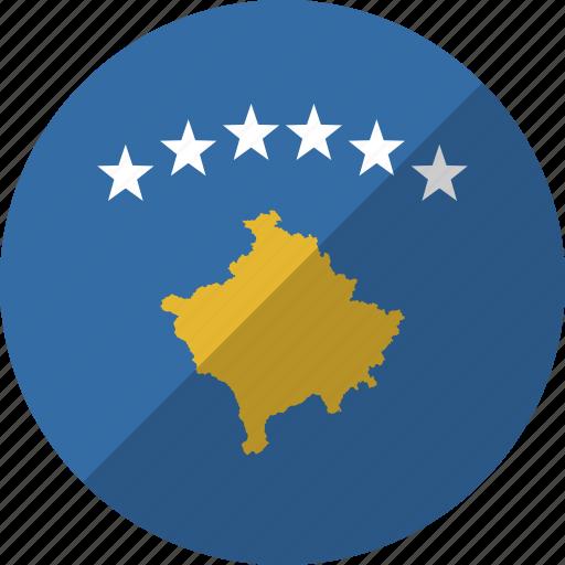 country, flag, kosovo, nation icon