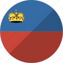 country, flag, liechtenstein, nation icon