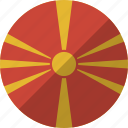 country, flag, macedonia, nation