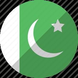 country, flag, nation, pakistan icon